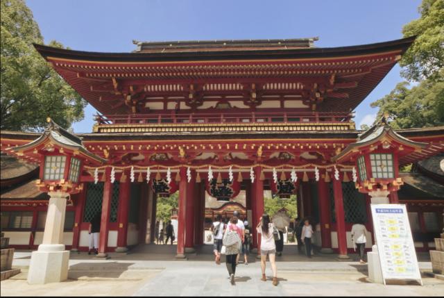金運アップ 神社九州福岡